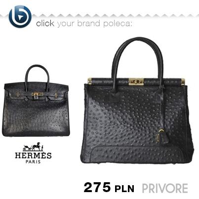 Czy czegoś Wam to nie przypomina? :) Teraz torebkę podobną do Birkin możecie kupić za 275zł!