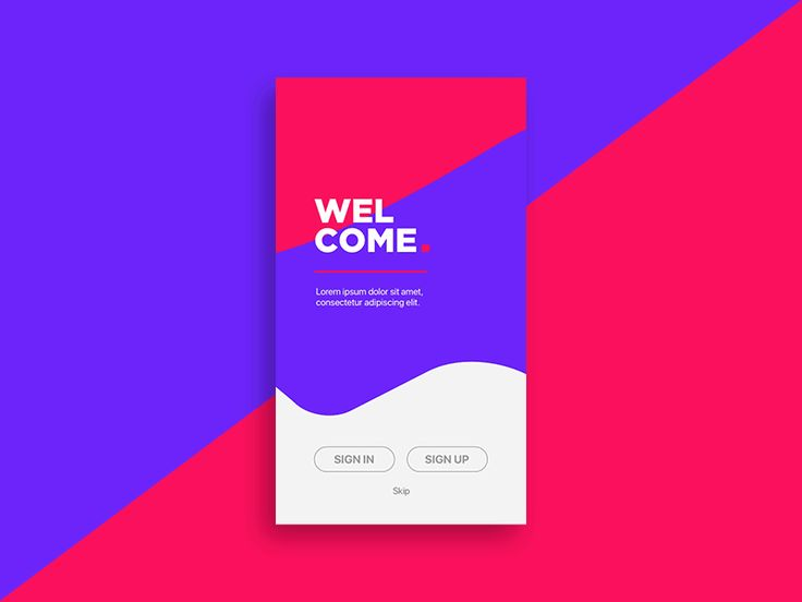 Sign in | Daily UI #001 by Phelipe Santos