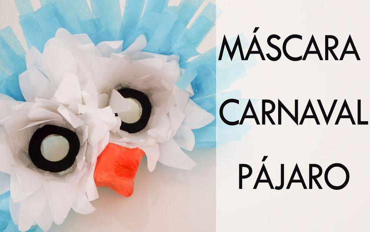 Comó hacer una máscara para carnaval. Pájaro.Tutorial paso a paso. Decoupage, Diy, Youtube, Blog, Recycled Materials, Kids Costumes Boys, Costume Patterns, Mask Party, Bricolage