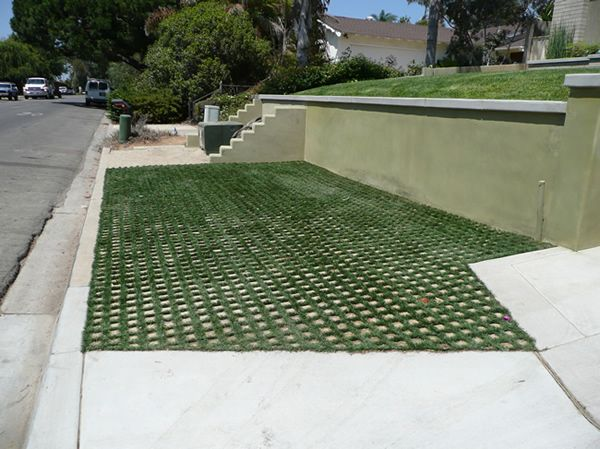 A Permeable Solution With Drivable Grass Good For