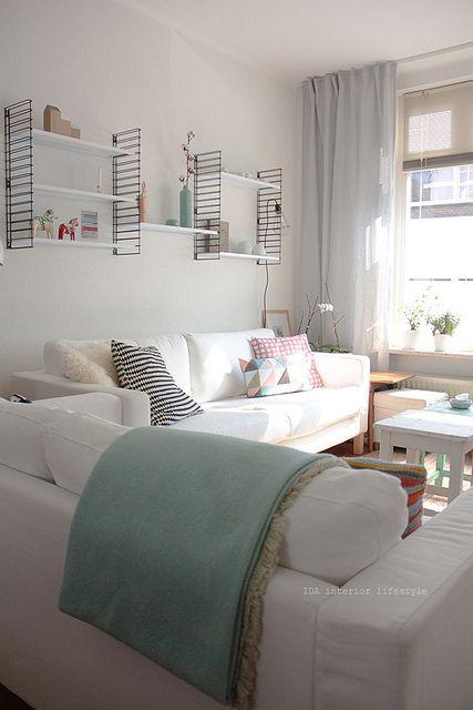 salon blanc lumineux