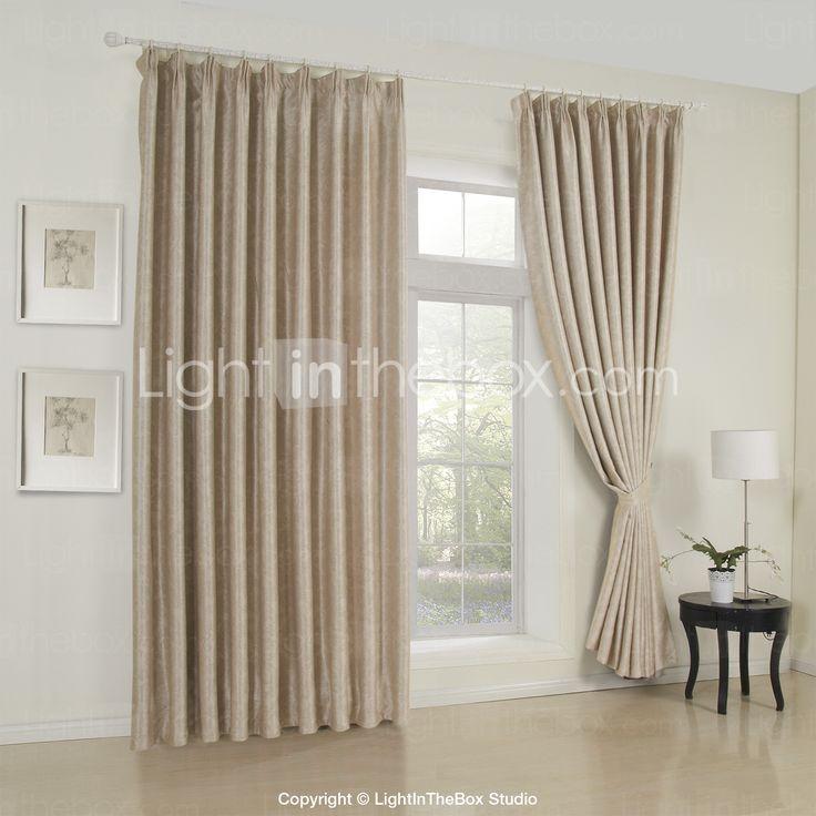 M s de 25 ideas incre bles sobre cortinas de color beige for Cortinas trabillas confeccionadas
