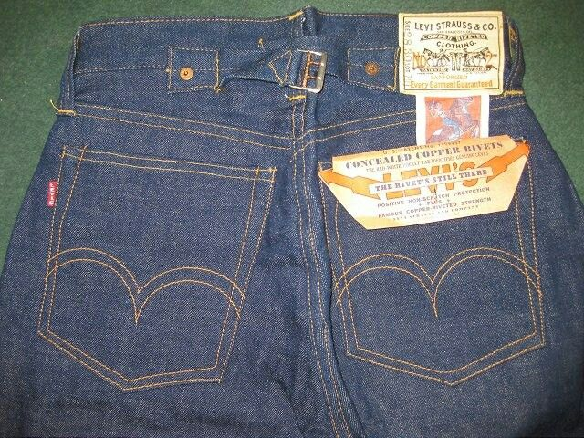 1937 Levi's 701 wrong red tab
