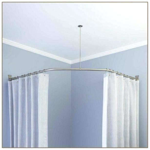 Beach Outdoor Shower Curtains Round Shower Curtain Rod Curved