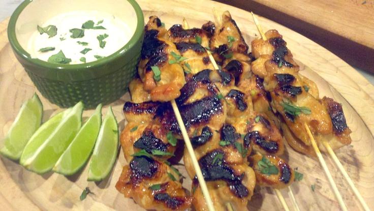 Spicy Key West Chicken Kabobs | Good Food Good Friends
