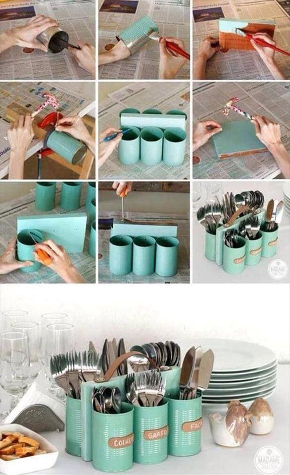 Reciclando se ahorra dinero, se comparte en familia y se tiene un estilo personalizado. Inténtalo y compártelo.