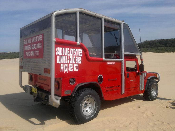 Sand Dune Adventures Hummer Tours #stocktonbeach