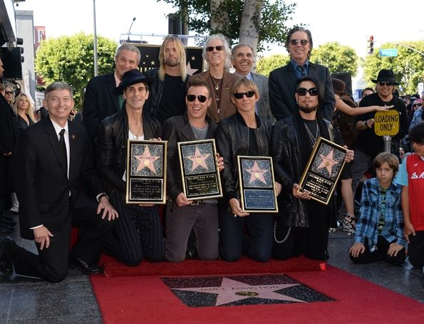 Perry Farrell, Stephen Perkins, Chris Chaney, Taylor Hawkins, John Densmore,  and Dave Navarro attend the ceremony honoring Jane's Addiction with a Star on The Hollywood Walk of Fame in Hollywood, California on October 30th, 2013.   Read more: http://www.rollingstone.com/music/pictures/random-notes-2013-20130111/my-time-0319306#ixzz2lEhYVdkw  Follow us: @Rolling Stone on Twitter | RollingStone on Facebook