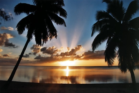 Cook Islands is one of the most beautiful places I have been lucky enough to travel to.... If you think this pic is pretty.. it doesn't even do justice to the sunsets you'll see there. The bright beautiful pinks and purples in the sunset reflect in the ocean, it's amazing :)