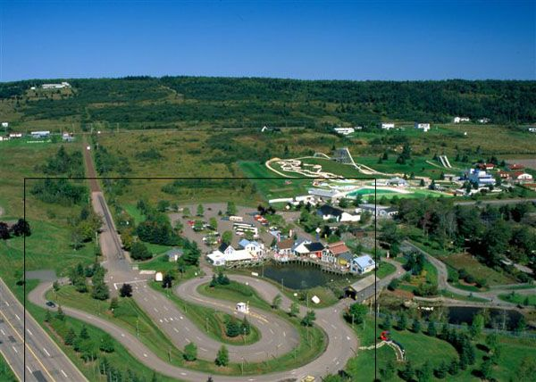 magnetic hill new brunswick - turn off your car then you put in neutral, take your foot off the break and travel up from the foot of the hill to the top.....pretty cool. It's true!!!
