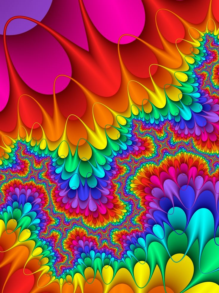 1211 Best Rainbow Colors Images On Pinterest Abstract