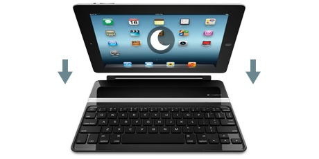 Logicool Ultrathin Keyboard Cover (BLACK)