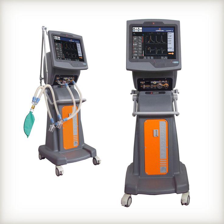 Respirador para Unidad de Terapia Intensiva– LUFT 3 de Leistung Ingeniería S.R.L., distinguido con el Sello de Buen Diseño 2013.