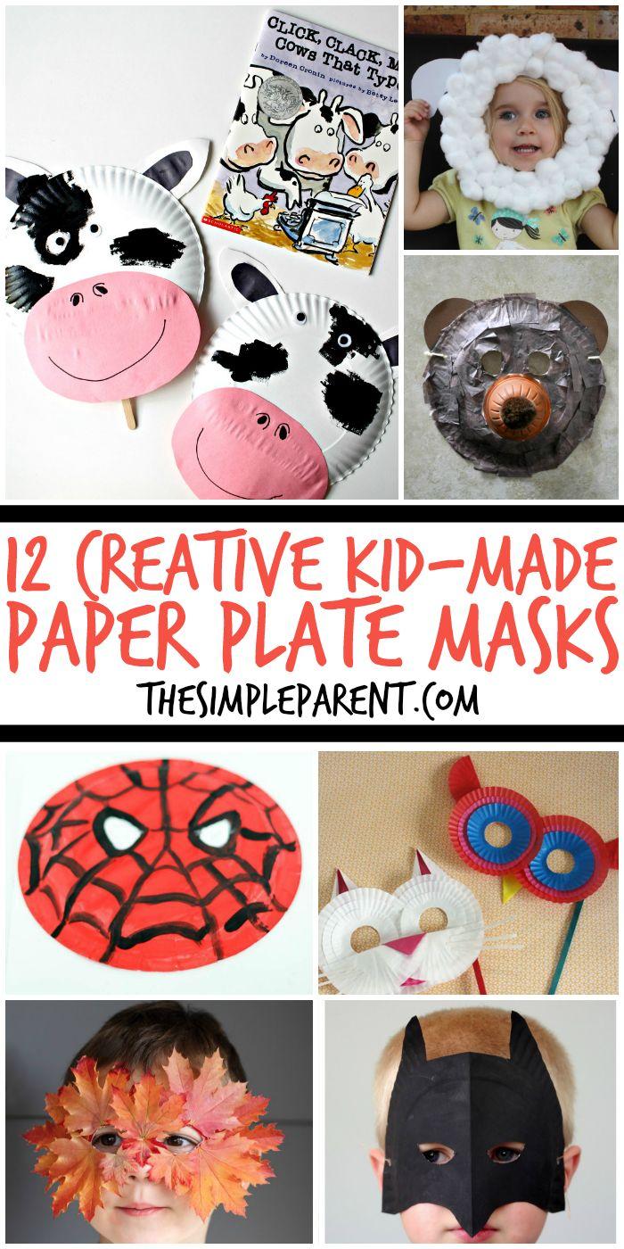 Best 20+ Masks kids ideas on Pinterest | Paper plate masks, Lamb ...