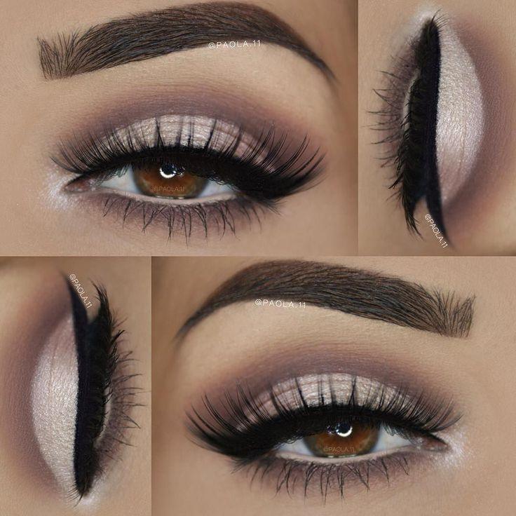 Perfect brows on @paola.11 using Motives Essential Brow Kit!! #Repost @marysmotives ___ Eyeshadows: @doll10beauty 'All Eyes On You' Matte Eyeshadow Palette ___ Lashes: @amyjunelashes 'Juliana' ___ Liner: @motivescosmetics 'Little Black Dress' ___ Brows: @motivescosmetics 'Essential Brow Kit' #motivescosmetics #makeup #glam #beauty #mua