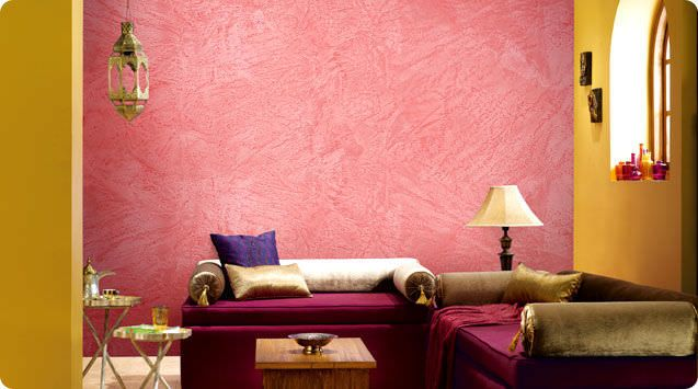 Decorative coating / indoor / lime / stuc finish ROYALE PLAY IGNEOUS  ASIAN PAINTS