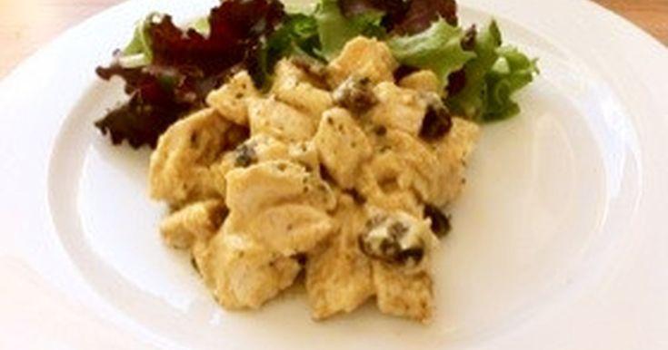 イギリスのコロネーションチキンというレシピです♪サンドイッチの具、サラダとして、冷製や熱々パスタでも絶品です♪