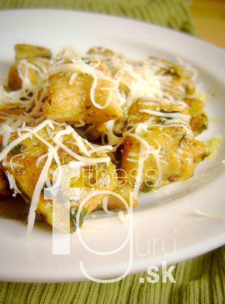 Opečené česnekovo-bramborové gnocchi