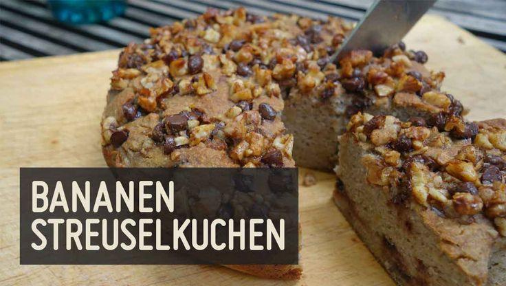 Bananen Streuselkuchen – Paleo360.de
