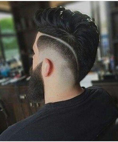 Best Side Buzz Haircuts 2018 for Beard Men