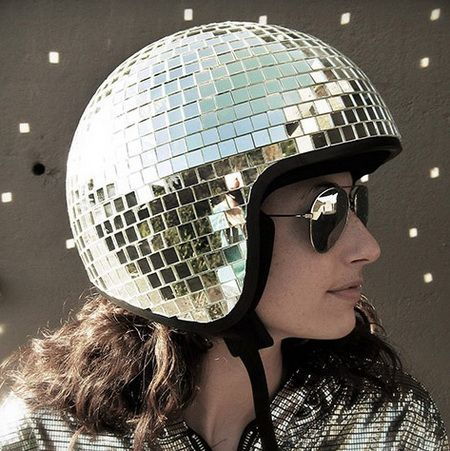 17 best ideas about novelty motorcycle helmets the disco ball helmet vintage style 3 4 open face helmet liner detail