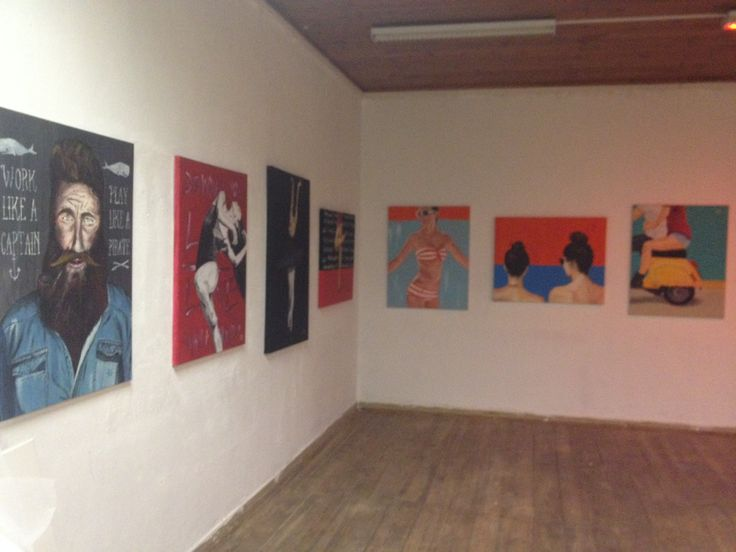 photo1 exposition Duarte Almada @ EKA Palace