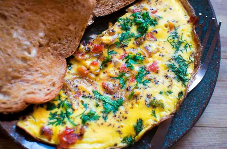 Have the Italian Style Frittata with an Indian Spices and serve it along with the Peanut Butter Smoothie to make for a filling breakfast.  What is your favorite breakfast? Click on the images below for recipes. #EverydayCooking #Recipes