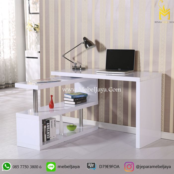 Harga Meja Kerja Desain Modern Terbaru Jepara - meja kerja atau meja belajar dengan desain minimalis modern terbaru pesan sekarang juga di Jepara Mebel Jaya