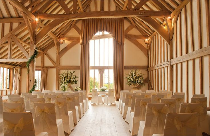 BIJOU - Cain Manor – breathtaking barn-style ceremony room