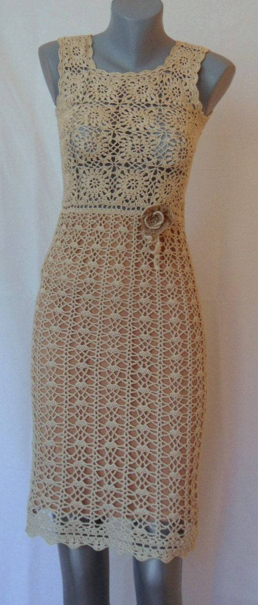 Hey, I found this really awesome Etsy listing at https://www.etsy.com/listing/173231421/elegant-crochet-dress-for-ladies