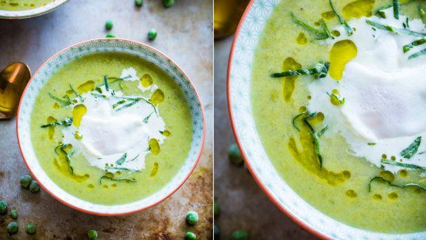 Hrášková polévka s pórkem Foto: