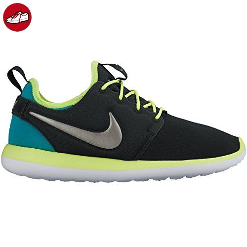 Nike Herren Roshe Two (Gs) Laufschuhe, Black (Black (Schwarz / Zinn-Volt Mtlc-Rio Teal)), 39 EU (*Partner-Link)