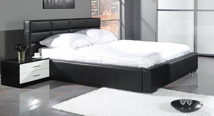 Čalouněnou postel Sibena pořídíte za 16 954,- Dodáváme ji včetně roštu, ložná plocha je 160 x 200 cm  http://www.mabyt.cz/32865-manzelska-postel-sibena.htm