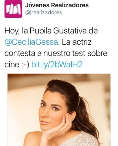 CECILIA GESSA: Test de cine para Jóvenes Realizadores.