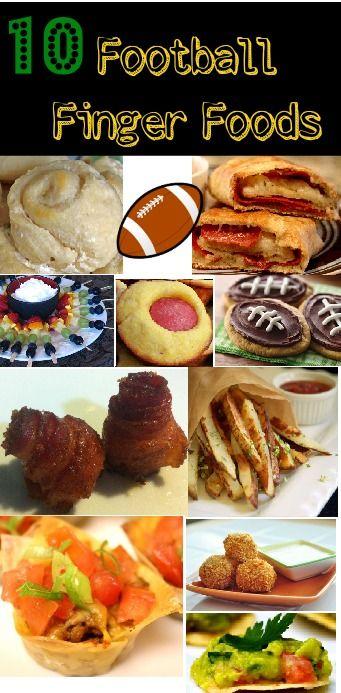 10 Football Finger Foods!