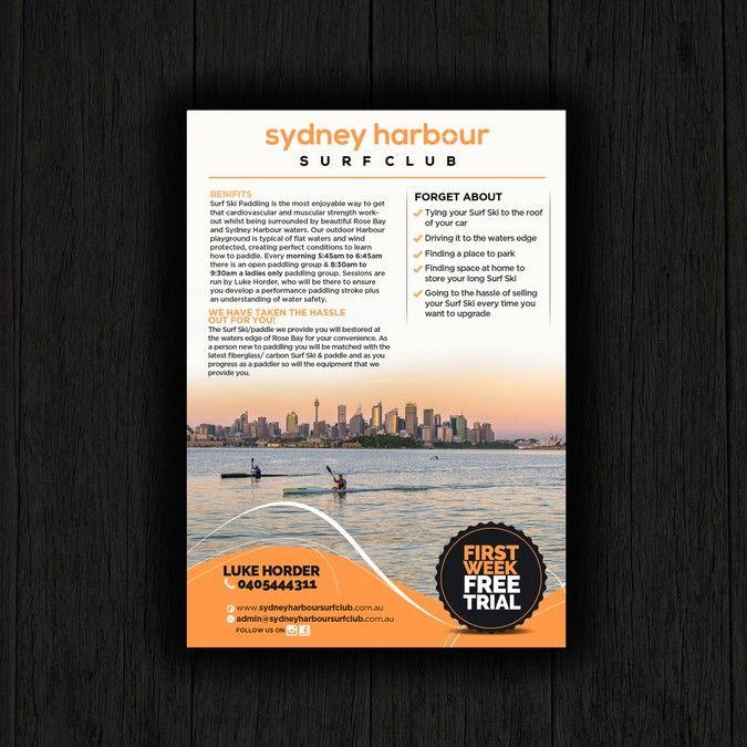 create advertising flyers