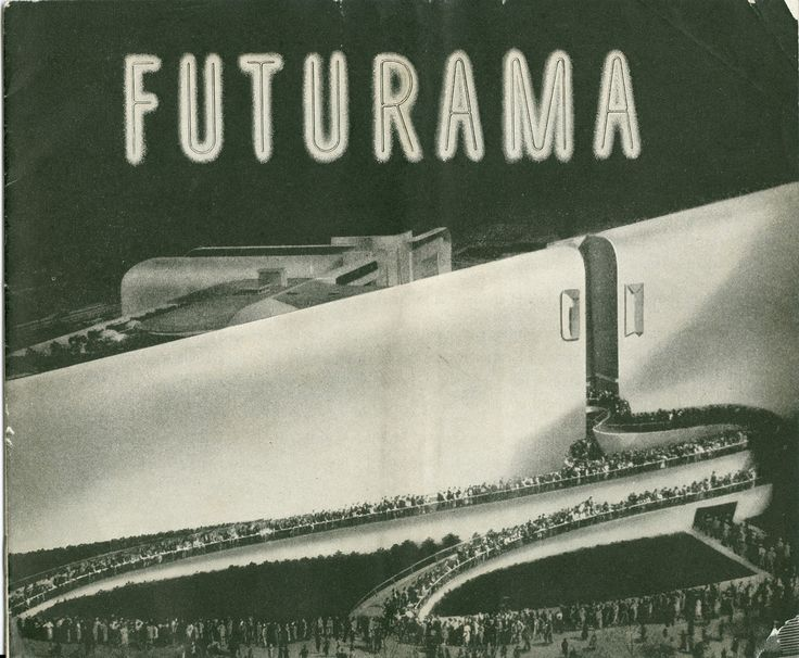 Exhibition - General Motors Futurama New York World's Fair 1939-1940 (Cover) / www.travelbrochuregraphics.com