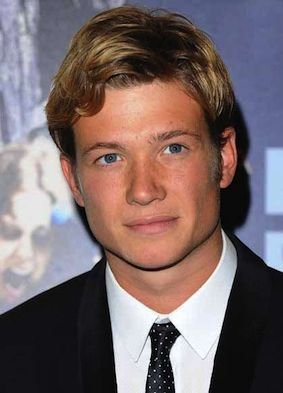 Jimmy Kent. (James), the new footman, played by Ed Speleers
