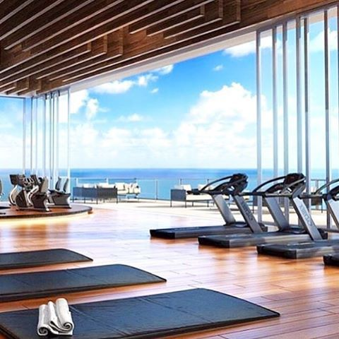Workout with ocean views - the ultimate gym set up just need that music pumping!  Head to www.femmebody.com.au and subscribe to our newsletter to be updated with the release of our Summer range! #workout #gym #ocean #view #sweat #move #fun #happy #fresh #air #music #summer #goals #fitness #healthy #active #exercise #goodforthesoul #endorphins #confidence #feminine #activewear #femmebodyactive #comingsoon