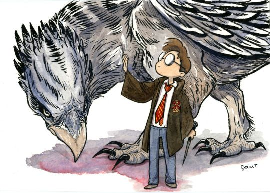 Harry Potter by Orcapod Comics