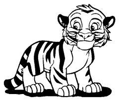 Bildergebnis für tiger malvorlage Malvorlagen tiere