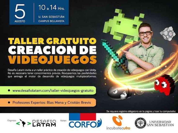 Los participantes aprenderán a desarrollar videojuegos y se entregarán recomendaciones para unirse a la pujante industria.