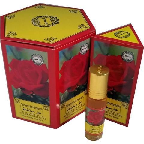 Ahsan Attar Mukhalat Perfume Oil - 8ml - The Hippie House