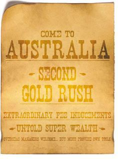 gold rush australia map - Google Search