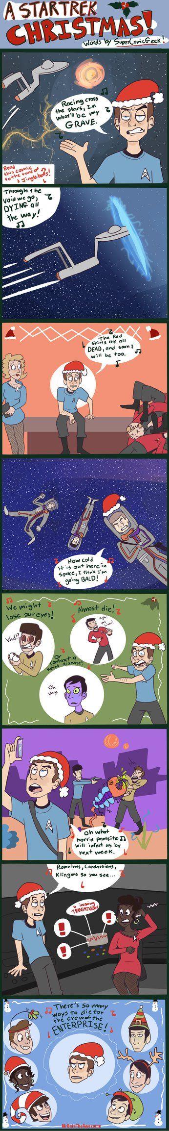 A Star Trek Christmas by MrDataTheAwesome.deviantart.com on @DeviantArt