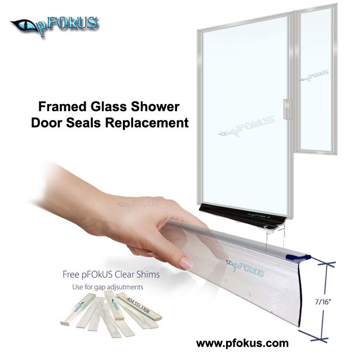 Get The Best Framed Glass Shower Door Seals To Seal Your Shower