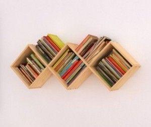 Libreros con cajones, encuentra más diseños para reciclar aquí...http://www.1001consejos.com/libreros-originales/