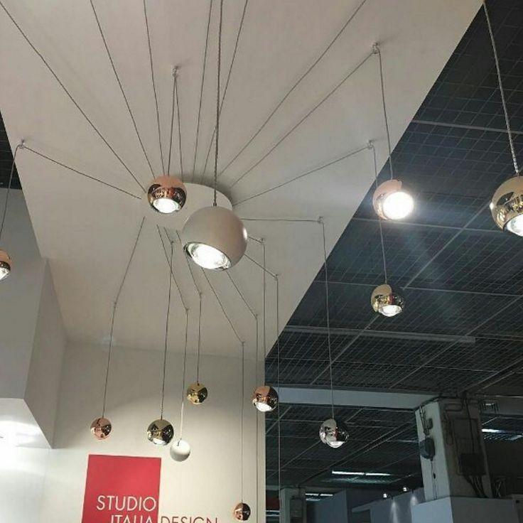 Spider http://bit.ly/1Wt9X4j #interiodecor #decoration #spider #lighting #lightingdesign