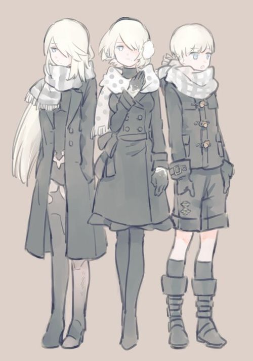 NieR: Automata ♥ 9s, A2, and 2b ♡ #PlayStation #Game #Yorha