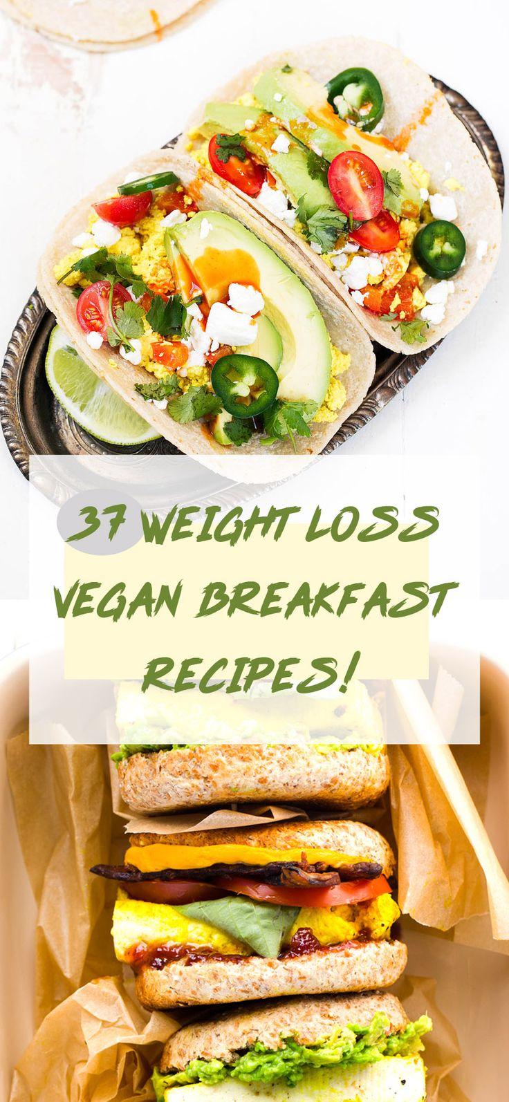 37 Vegane Frühstücke, die wahnsinnig lecker sind und Ihnen beim Abnehmen helfen! -…